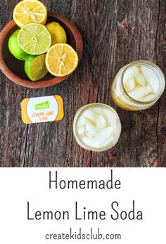 get kids cooking with this simple homemade soda via createkidsclub.com