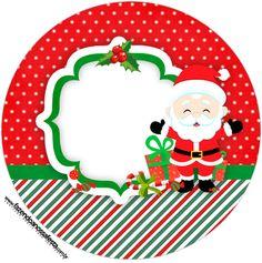 Rótulo Tubete 2 Natal Papai Noel