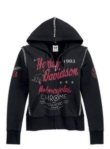 Harley-Davidson® Women's Unique Stitch Graphic Hoodie