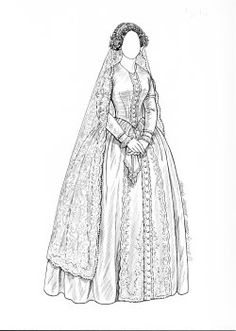 [1840 gown]