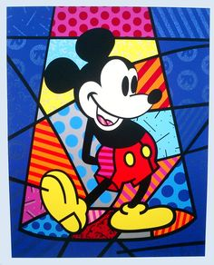 Pop Art Andy Warhol Mickey Mouse Images Amp Pictures Becuo ...