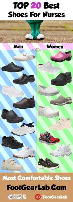 Best Shoes for Nurses - Most Comfortable Shoes. @footgearlab #BestShoesForNurses #ShoesForNurses #BestNursingShoes #NursingShoes #Nurses #Nursing