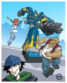 Megas XLR - Was such an AWESOME show