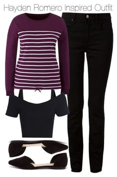 """""""Hayden Romero Inspired Outfit"""" by staystronng ❤ liked on Polyvore featuring T By Alexander Wang, Breckelle's, tw and HaydenRomero"""