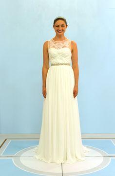d7d1367aa46fd7 Kayla s Something Borrowed  Kayla chose her Something Borrowed gown to wear  at her wedding.