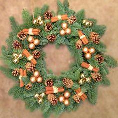 Naturally Coloured Wreath