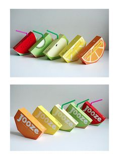 Juice Boxes with a cool shape!