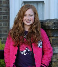 Tiffany Butcher played by Maisie Smith. Love this little girl.... She plays such a good part on eastenders!
