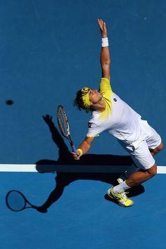 David Ferrer - I suddenly have an interest in tennis!