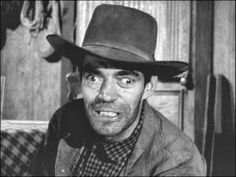Character actor Jack Elam was right at home in 'The Rifleman', at home in fact in every TV Western and cowboy movie that he ever made during. Hooray For Hollywood, Hollywood Stars, Classic Hollywood, Jack Elam, The Rifleman, Cowboy Girl, Star Character, Tv Westerns, Classic Movie Stars