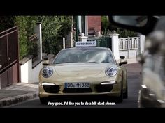 Video: learners take driving test in Porsche 911 | TopCar