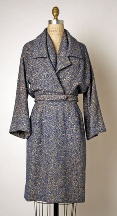 Suit House of Dior (French) ca. spring/summer 1954 wool, silk