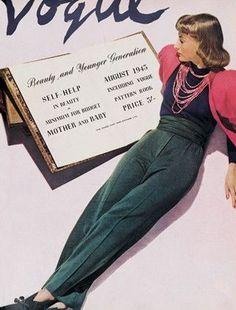 Vogue United Kingdom Magazine (August 1943)
