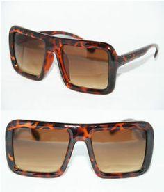 4b9aec5721 Cazal Design XL Brown Lens Sunglasses RUN DMC OLD School Tortoise Brown  Geek