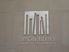 The City Library logo - environmental