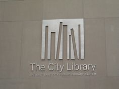 The City Library logo - environmental
