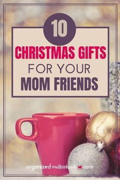This list of 10 gifts for moms is perfect to give to your friends. Save them for Christmas birthdays or your next play date. This list of 10 gifts for moms is perfect to give to your friends. Save them for Christmas birthdays or your next play date. Christmas Gifts For Him, Christmas Gift Guide, Christmas Ideas, Christmas Crafts, Christmas Printables, Handmade Christmas, Holiday Ideas, Diy Gifts For Mom, Gifts For Teens