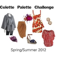 Colette Palette Challenge 2012, created by latrice-smith on Polyvore