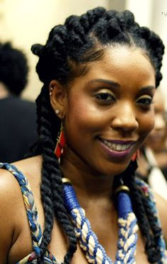 great protective style...I love Marley twists!!!