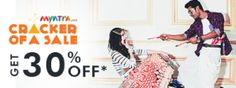 """This Time it's been named- """" Myntra Cracker of a Sale""""!  http://www.buy1get1.in/blog/its-myntra-cracker-of-a-sale-the-exclusive-myntra-discount-offer-this-diwali/"""