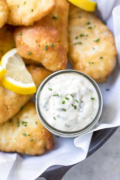 Homemade Tartar Sauce is so much better than out of a bottle, you'll never go back to store-bought again! Made with simple ingredients and taking all of about two minutes, this is the best tartar sauce recipe! Dill Recipes, Halibut Recipes, Sauce Recipes, Seafood Recipes, Cooking Recipes, Keto Recipes, Fun Recipes, Dinner Recipes, Healthy Recipes