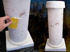 Apply Plaster to Column