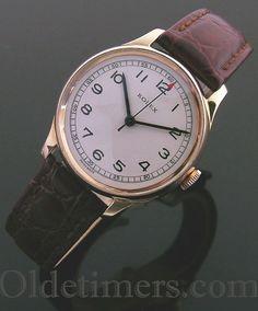 1920s gold vintage Rolex watch