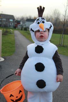 Olaf Costume, Frozen Costume, Christmas Costumes, Baby Halloween Costumes, Halloween Ideas, Team Mission, Frozen Halloween, Frozen Bday Party, Diy Adult