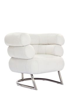 Michelin Genuine Leather Chair - White by Modway on @HauteLook