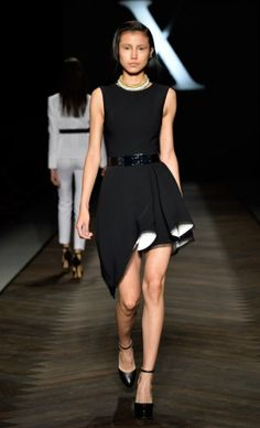 Camilla and Marc Australia Fashion Week Spring/Summer collection by ♥✤ Runway Fashion, High Fashion, Womens Fashion, Fashion Tips, Fashion Weeks, Cute Dresses, Short Dresses, Prom Night, Peplum Dress