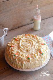 La Cocina de Ani: Carrot Cake Carrot Cake, Carrots, Pie, Desserts, Yum Yum, Food, Ideas, Carrot Cakes, Pound Cake