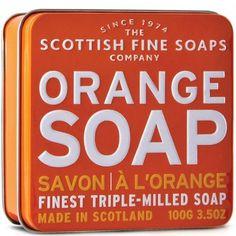 The Scottish Fine Soap Company - Orange Soap