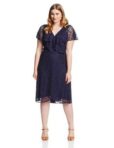 Adrianna Papell Women's Plus-Size Circle Crochet Layered Dress, Navy, 16W Adrianna Papell,http://www.amazon.com/dp/B00IPC3H32/ref=cm_sw_r_pi_dp_4A6Htb1A1NFBBYFR