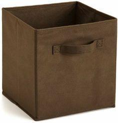 Amazon.com - ClosetMaid 78600 Closet Fabric Drawer, Canteen Brown