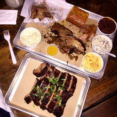 The 15 Best Spots In NYC For A Hungover Brunch #refinery29  http://www.refinery29.com/nyc-breakfast-restaurants#slide-13  Hometown Bar-B-Que  The biggest, honkin' beef rib that you're likely to see (and devour) this side of the Mississippi. This mammoth cut of meat is seasoned simply with salt and pepper and then smoked for up to 14 hours, so it tastes great alongside some sriracha hot wings (a must!) and Texas-style queso mac 'n' cheese. Plus, the laid-back atmosphere looks great with a ...