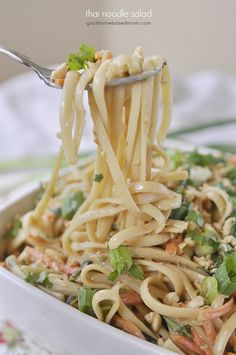 This thai noodle salad is always a crowd pleaser and has lots of amazing textures and flavors going on! Today's recipe is a Recipe Redo.  I originally posted it in 2008.  I made it this weekend for our neighborhood cul de sac potluck BBQ so it was the perfect time to rephotograph it and fix …