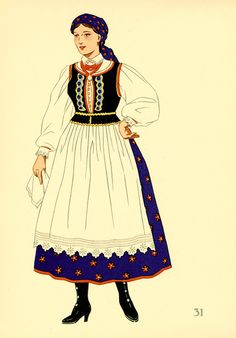 31 POLAND: A Cracow Costume.