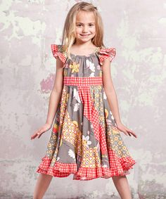 0e38454a5da Jelly the Pug Maple Hannah Dress ~~for them. Another great find on  zulily! Indian  Summer Flo Dress - Toddler   Girls