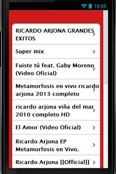 """Edgar Ricardo Arjona Morales, known as Ricardo Arjona, is a Guatemalan singer-songwriter and former basketball player and school teacher. Arjona is one of the most successful Latin American artists of all time, with more than 20 million albums sold.<p>DISCLAIMER: This is an unofficial app and the purpose of this app is for entertainment only. This application complies with US Copyright law guidelines of """"fair use"""". All rights reserved by respective content owners. The content provided in…"""