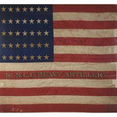 Rare Civil War Battle Flag of North Carolina Colored Heavy Artillery, Civil War Flags, Civil War Art, American History, American Flag, America Civil War, Civil War Photos, Military History, Historical Photos, Civilization
