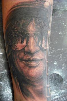 Tattoo Artist Gene Martin New Zealand