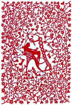 I miss being a small girl lasercut by Rob Ryan. I'm so lucky to own this!