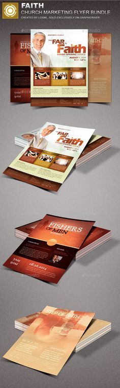 755 Best Church Marketing Flyer Templates images Booklet Design