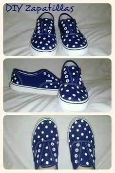 Diy Sneakers Diy Zapatillas