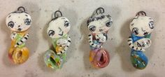 Mini Mermee  Handmade by Sunny Carvalho far right by SunnyCDolls, $24.00