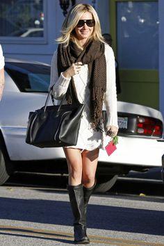 Ashley Knit Sweater Dress