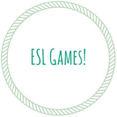 Free ESL Games, worksheets, lesson plans and more! Linked page takes you to a… Esl Learning, Efl Teaching, Teaching English, English Teachers, Teaching Spanish, Ell Strategies, Teaching Strategies, Teaching Tips, Esl Lessons
