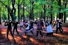 Young Japanese people dancing in Yoyogi Park : Places to see on a 4 day and 3 nights visit to Tokyo