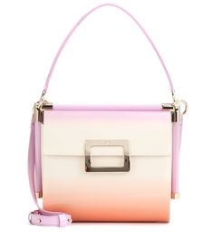 48779186eb Miss Viv  Carré Small patent leather shoulder bag