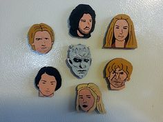 Game of Thrones Characters by mfritz - Thingiverse